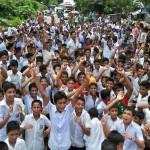 কুমিল্লর হোমনায় শিক্ষার্থীদের উপর হামলার প্রতিবাদে রাস্তা অবরোধ