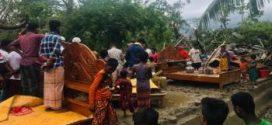 ঘূর্ণিঝড় ফণী : ভোলায় ২ শতাধিক ঘরবাড়ি বিধ্বস্ত