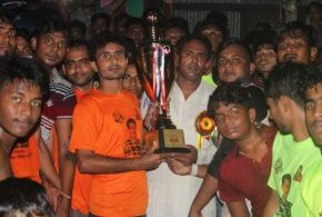 কুমিল্লার হোমনায় ওয়ার্ড ভিত্তিক গোল্ডকাপ ফুটবল টুর্নামেন্টের ফাইনাল অনুষ্ঠিত